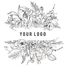 Graphic Floral Illustration - ...