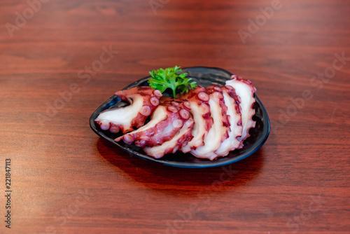 Tako Sashimi, Japan food