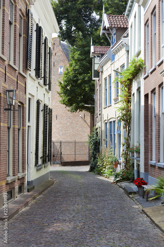 Picturesque street in Zutphen