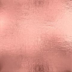 Fototapeta Rose Gold foil texture background