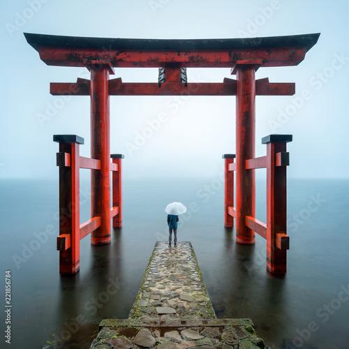 Hakone Schrein in Kanagawa, Japan