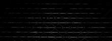 Pattern Of Vintage Cage Metal Door - Dark Background