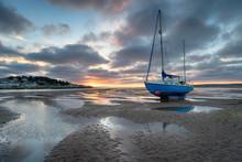 Low Tide At Instow In Devon