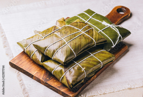 Typical dish in the Christmas festivities of Venezuela, La Hallaca
