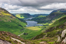 The View Towards Buttermere Fr...