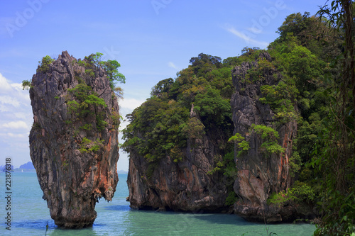 Ko Ta Pu or James Bond island, Phuket, Thailand