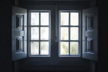 Cute Vintage Wood Windows