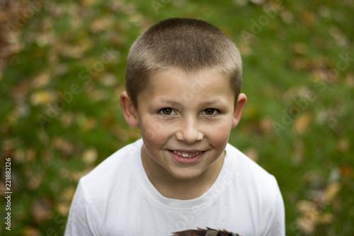 Fotografie, Obraz  Glücklicher Junge