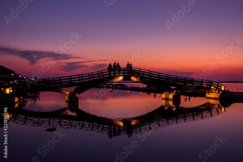 Fotografija  Lefkada Marina at sunset