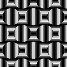 Striped Optical Illusion Background. Seamless Pattern. Vector.ストライプ錯視パターン