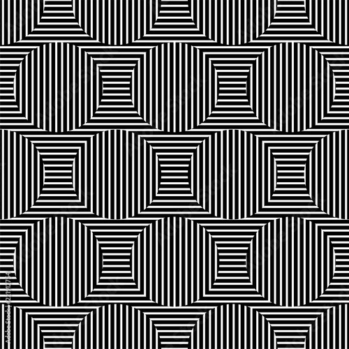 Fotomural Striped optical illusion background