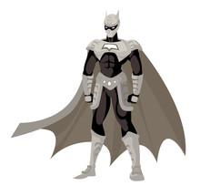 Strong Superhero Standing
