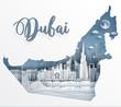 22.8.2018 Dubai map day