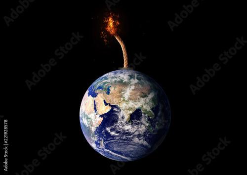 Fototapeta 地球の未来