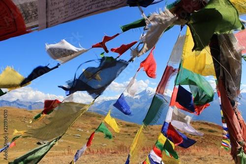 Fotografia, Obraz  drapeaux à prière