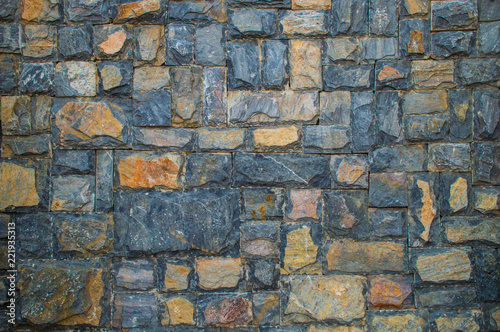 Tuinposter Stenen abstract stone wall texture background,home exterior