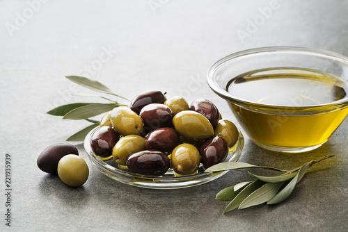 Tuinposter Aromatische Olive oil