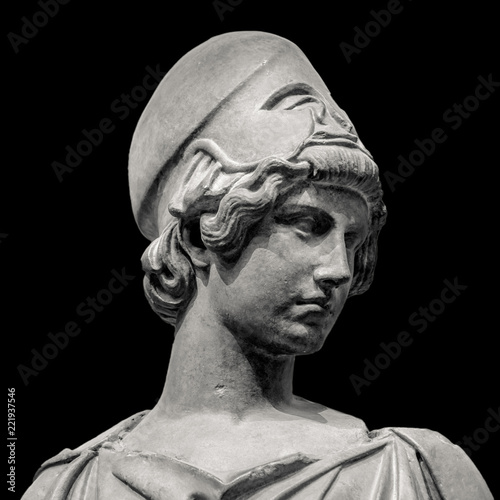 Athena the ancient Greek goddess Canvas Print