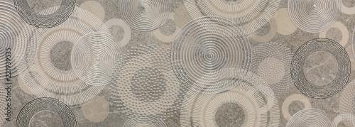 Fototapeta white geometric abstract mosaic pattern, tile for kitchen obraz