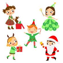 Christmas Kids. Happy New Year...