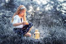 Fairytale Portrait Of Little G...