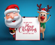 Merry Christmas Greeting Templ...