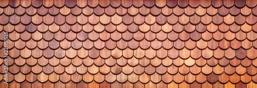 Holzschindeln Fototapet