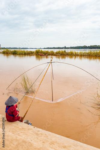 Foto  Mekong - vientiane - Laos