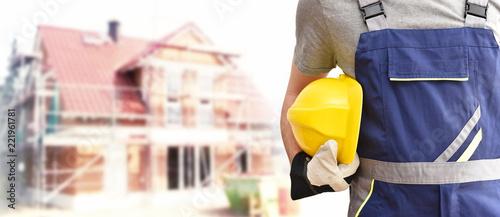 Fotografie, Obraz Hausbau - Traum vom Eigenheim für die Familie // House building - dream of a hom