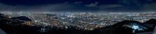 札幌市の夜景 / 藻岩山山頂からの風景