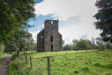 Collegiate Church Ancient Ruins Scotland