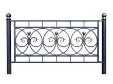 Decorative Iron Barrier, Fence.