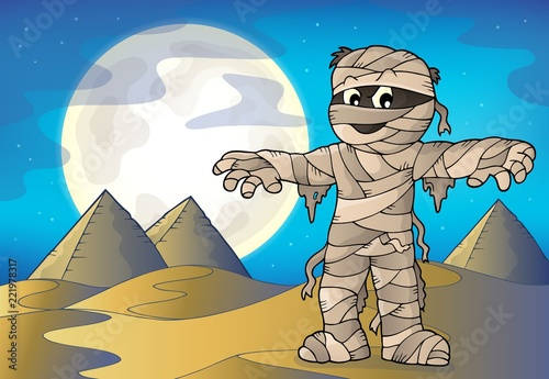 Mummy theme image 4