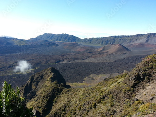 Foto op Plexiglas Zuid Afrika Mountains and clouds