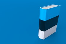 Book With Estonian Flag
