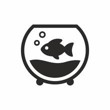Fish, Aquarium Vector Icon