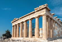 Parthenon On The Acropolis Of Athens, Greece