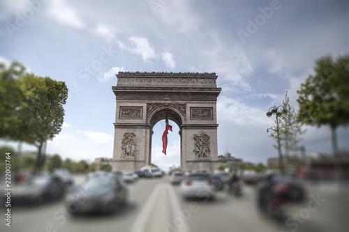 Cuadros en Lienzo triumphal arch on the Champs Elysées