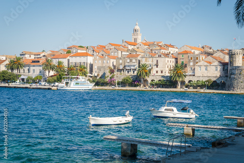 Obraz na plátně Korcula island, Croatia