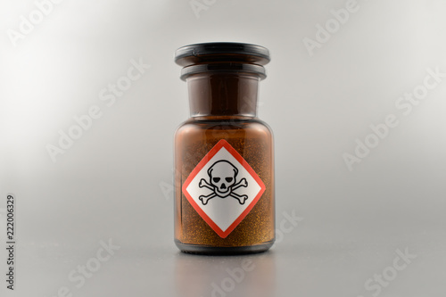 Photo Vial with poison stock images