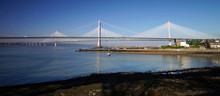 The Forth Road Bridge And The Queensferry Crossing