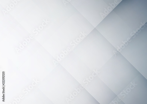 Vászonkép Abstract gray geometric vector background, can be used for cover design, poster, advertising