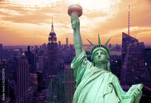 Spoed Foto op Canvas New York City New York