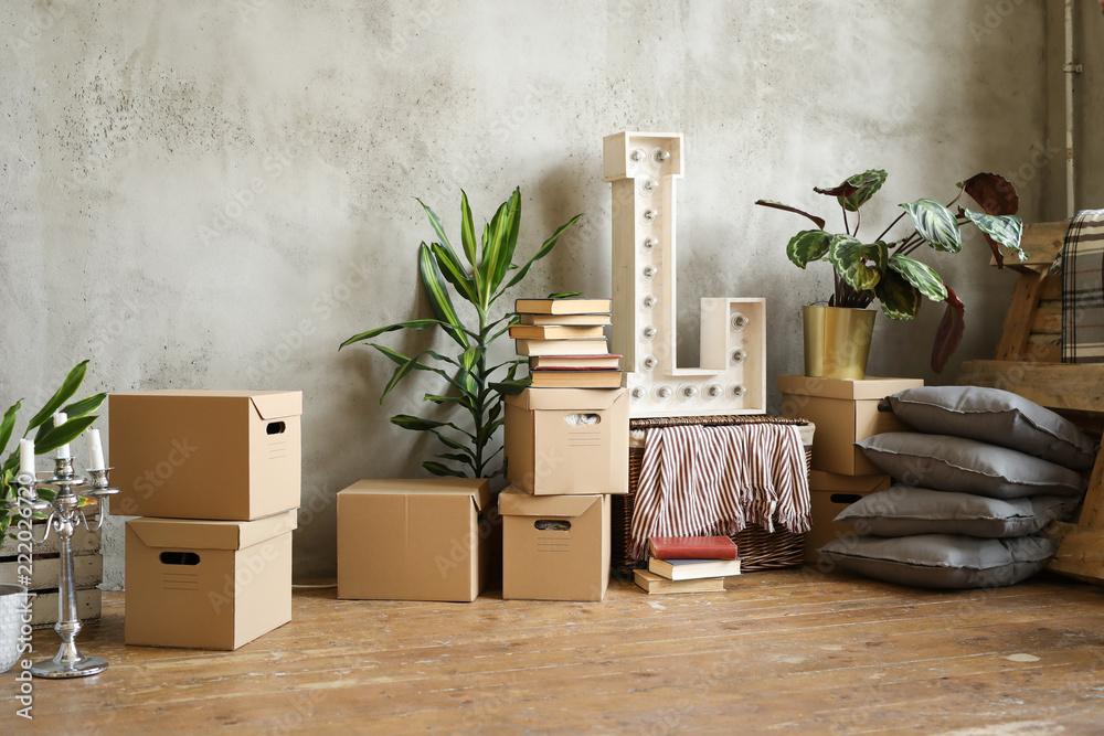 Fototapety, obrazy: Moving home