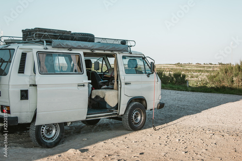 Valokuva traveling europe by campervan