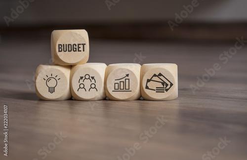 Cuadros en Lienzo Würfel mit Budget