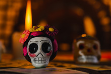 Skull And Fire