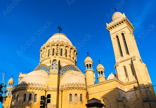 Our Lady of Africa Basilica in Algiers, Algeria