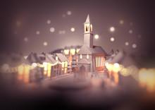 A Festive Christmas Town Centr...