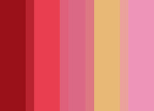 Striped Background In Vibrant ...